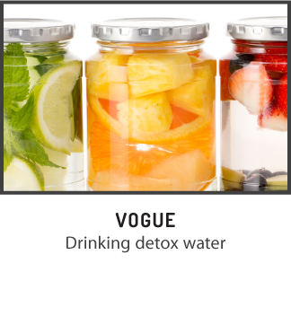 Why you need to be drinking detox water -Vogue