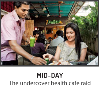 The undercover health cafe raid - Mid Day, Mumbai